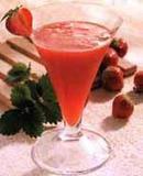 Слабоалкогольный коктейль «Клубничка»